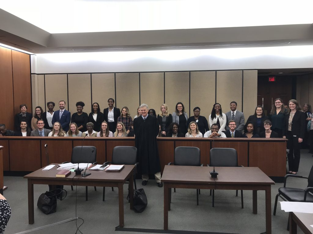 Family Court Judge Dana Morris presided over the first 2019 Guardian Ad Litem/Court Appointed Special Advocates class swearing-in on Feb. in Richland County.